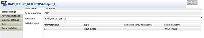 SAP Integration with Talend Components / Connectors (BAPI