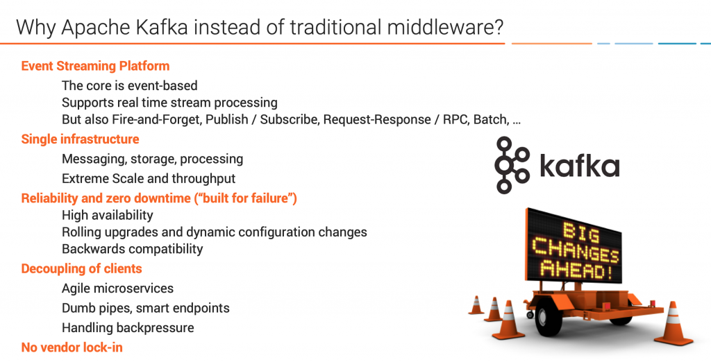 Why Apache Kafka instead of Integration Middleware