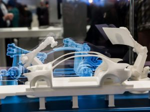 Digital Twin with Apache Kafka - Simulating of car manufacturing by robots on Siemens