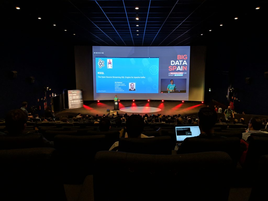 Kai Speaking Big Data Spain 2018