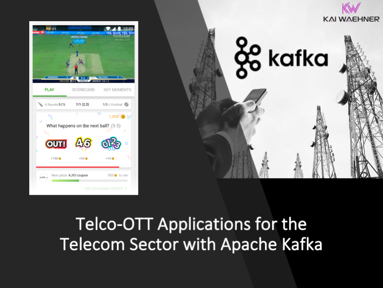 Telco-OTT Microservices with Apache Kafka in the Telecom Sector