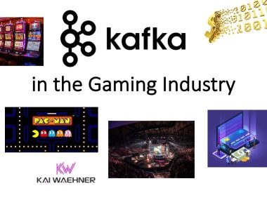 Kafka in the Gaming Industry - Games Betting Gambling Video Streaming