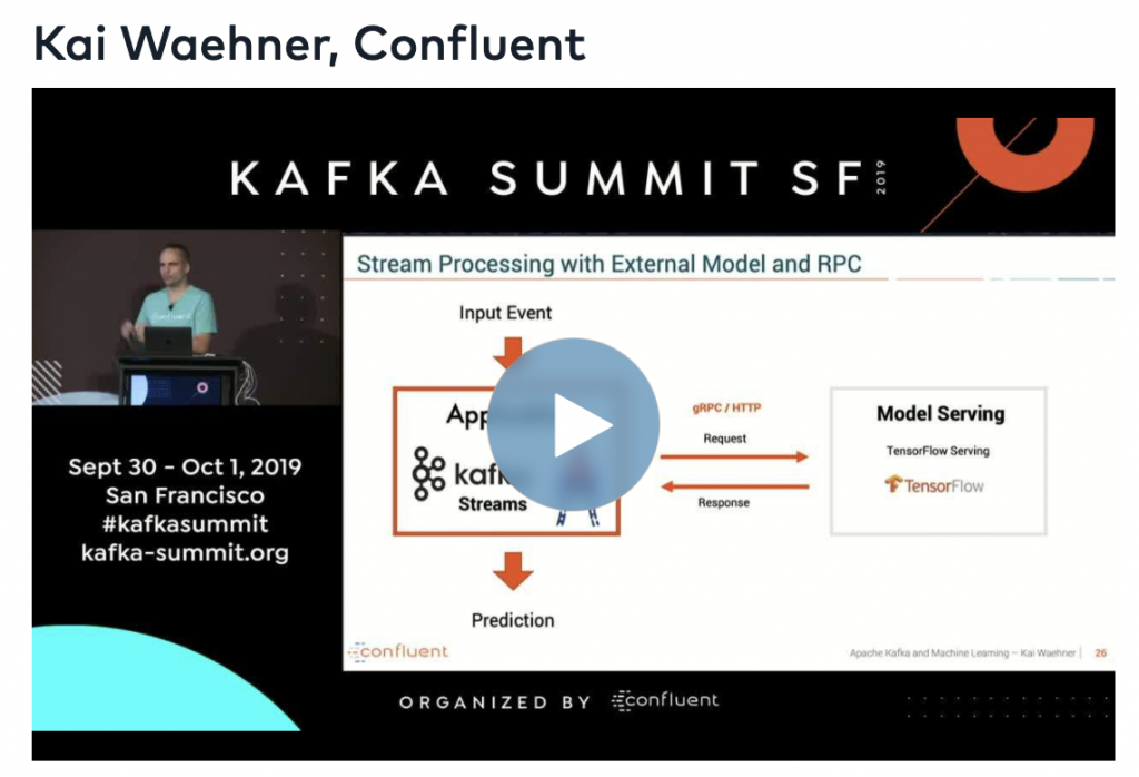 Event-Driven Model Serving - Stream Processing vs RPC with Kafka and TensorFlow