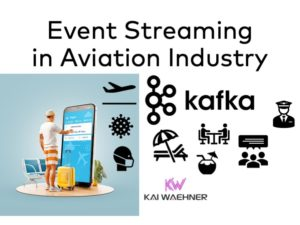 Apache Kafka in Aviation Industry including Airlines Airports Manufacturing Retail GDS