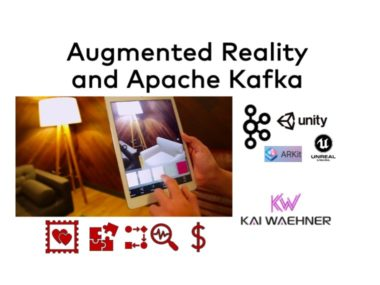Augmented Reality AR VR and Apache Kafka with ARKit Unity Unreal Engine