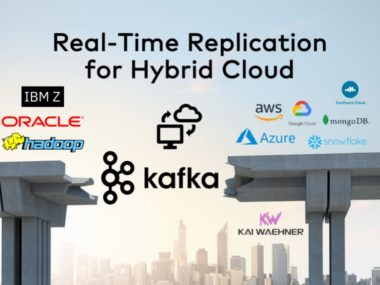 Hybrid Cloud Architecture with Apache Kafka Mainframe Oracle IBM AWS Azure GCP