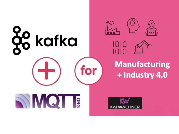 MQTT and Kafka for Manufacturing and Industrial IoT