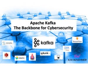 Apache Kafka - The Backbone for Cybersecurity including SIEM and SOAR