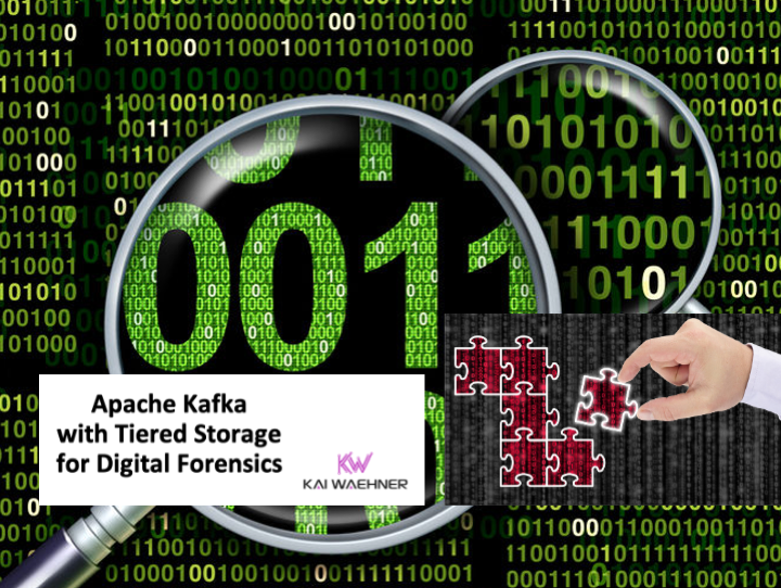 Apache Kafka and Tiered Storage for Digital Forensics and Cyber Security