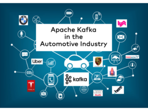 Apache Kafka in the Automotive Industry including Car Makers Tier 1 Suppliers Manufacturing Connected Cars Mobility Services Smart City