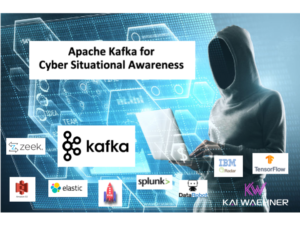 Cyber Situational Awareness with Apache Kafka