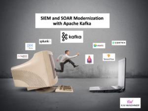 SIEM and SOAR Modernization with Apache Kafka Elasticsearch Splunk QRadar Arcsight Cortex