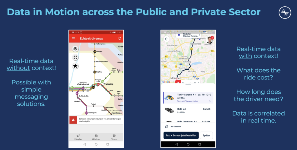 Data in Motion with Kafka across the Public and Private Sector